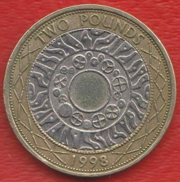 Великобритания Англия 2 фунта 1998 г Елизавета II