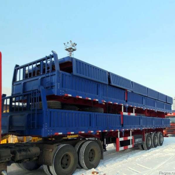 Полуприцеп бортовой Tongyada 60 тонн 3 оси в наличии!