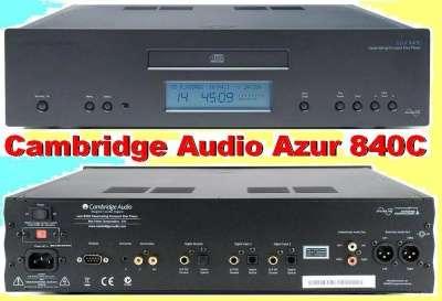 CD-проигрыватель — Cambridge Audio Azur 840C —•