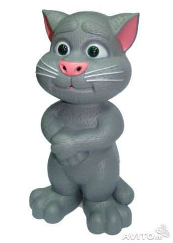 Говорящий кот Том.