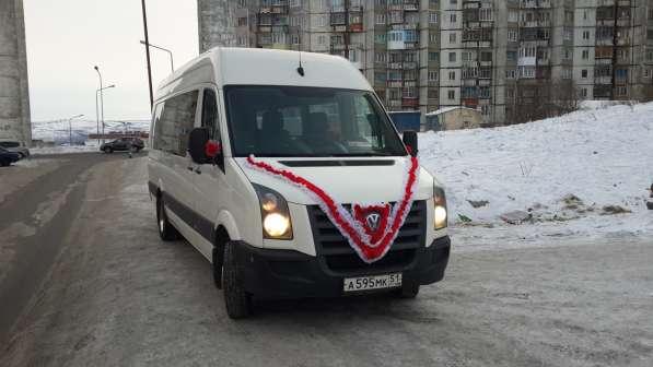 Развозка работников автобусами, заказ автобусов