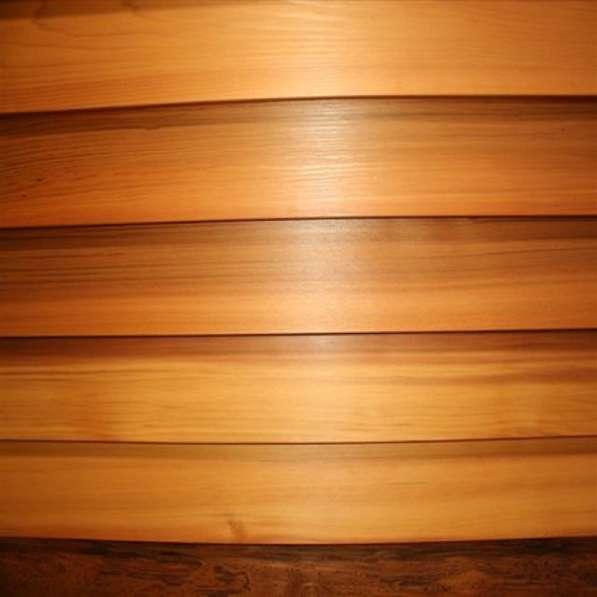 Планкен скошенный из сосны, сорт АВ, толщ.21мм * шир.115мм *