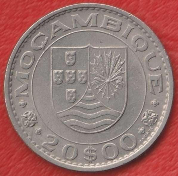 Мозамбик Португальский 20 эскудо 1972 г