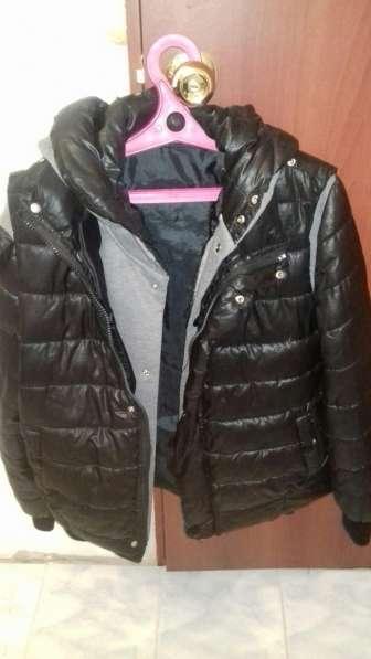 Куртка зимняя подростковая, 2 в одном