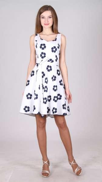 Трикотажное платье от производителя