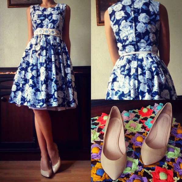 Шикарное романтичное платье