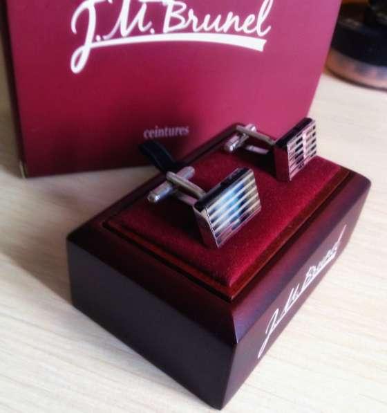 Запонки J. M. Brunel