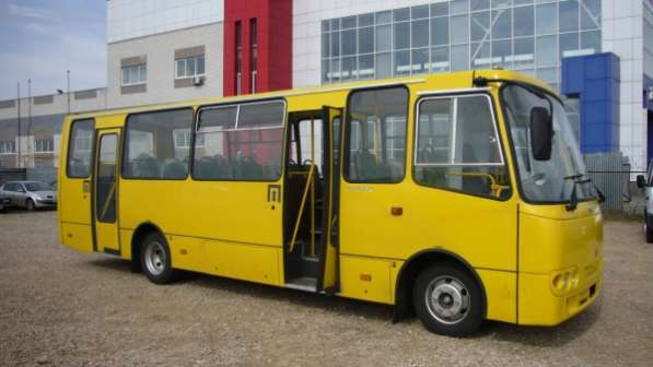 Автобусы Isuzu-Атаман городские.