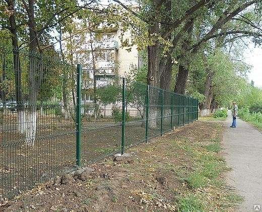 3Д забор Полимер 2030х2500х5 мм