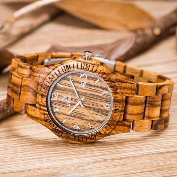 Продаю оригинальные деревянные часы производства Японии