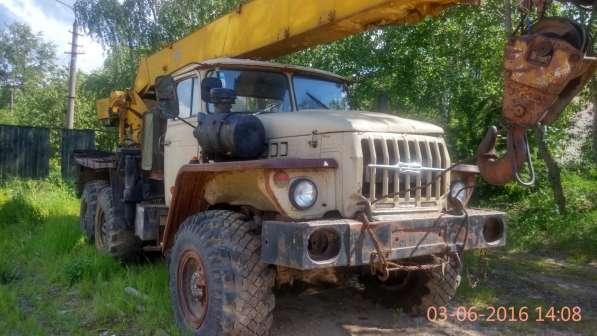 Кран 16тонн 18метров на Урале