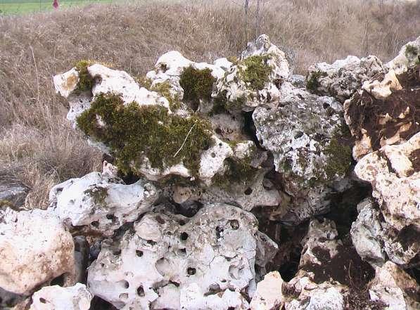 Камень для ландшафтного дизайна природный крымский