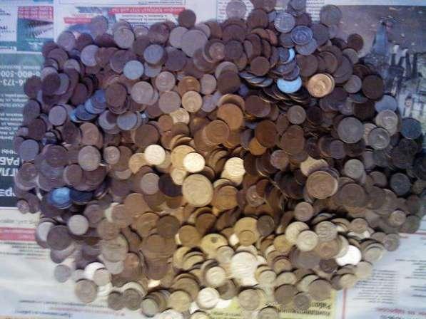 Более 5кг монет 1961-91г.