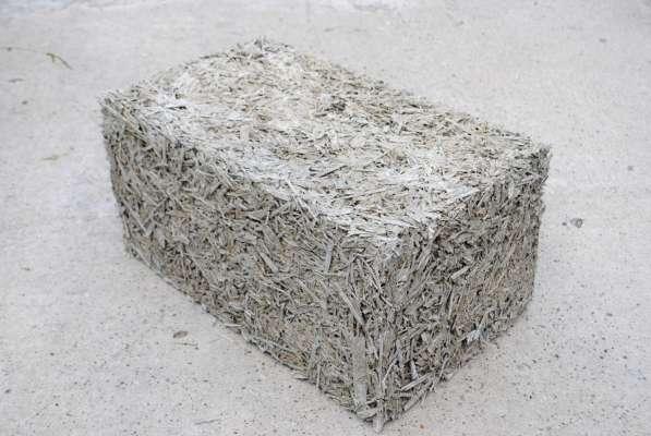 Арболитовый блок 500х250х300