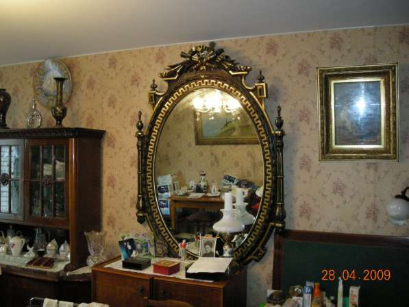 Продажа антикварного зеркала конец 19-нач. 20 в