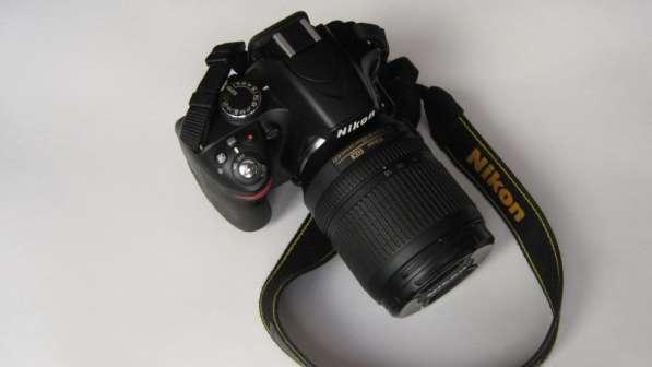 Продам фотоаппарат NIKON D3200 с объективом Nikon 18-105mm
