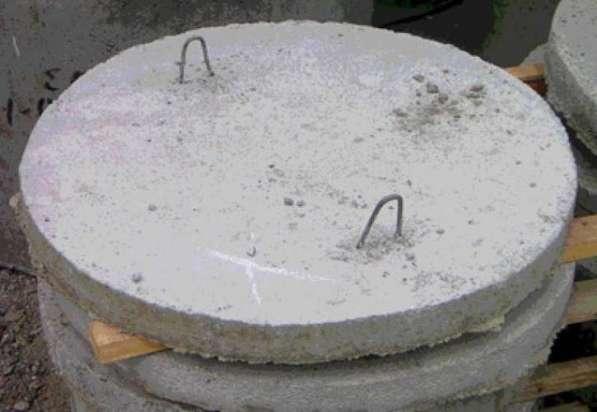 Бетонные кольца, Крышки колодцев, Днище колодцев в Рязани фото 3