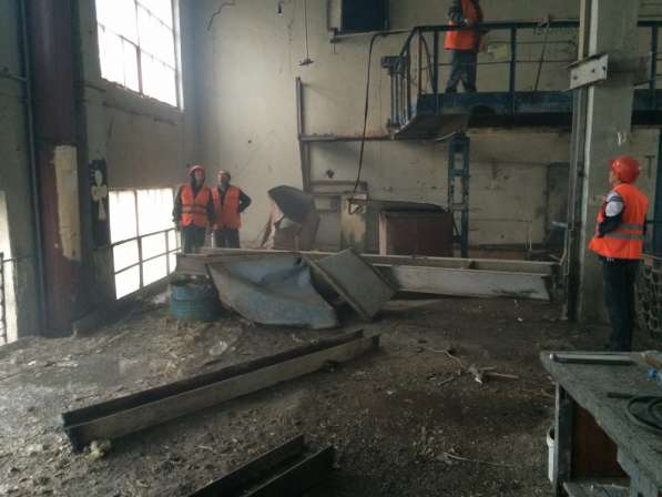 Демонтаж металлоконструкций в Нижнем Новгороде