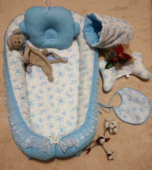 Кокон для новорожденного набор в Краснодаре фото 5