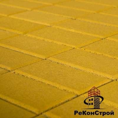 Плитка тротуарная, Прямоугольник, Солома