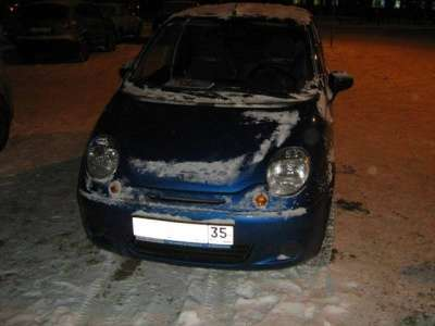 автомобиль Daewoo Matiz