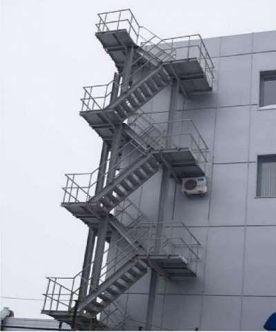 Металлические лестницы в Чебоксарах
