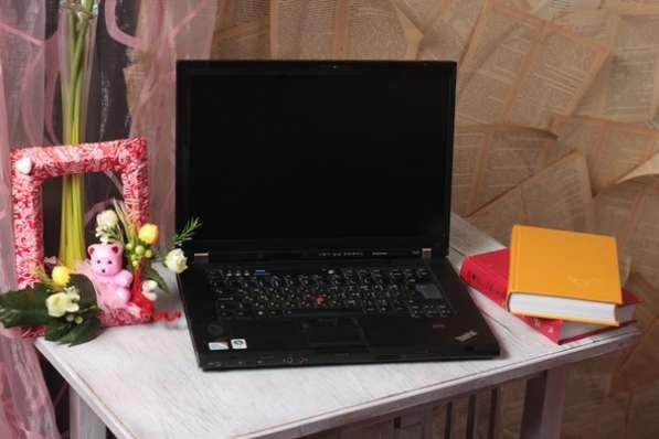 Ноутбук бизнес класса Lenovo T500 с встроенным 3G