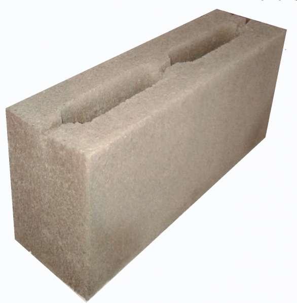 Пескоблоки - стеновой камень перегородочный 390*188*120мм