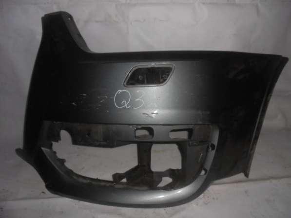 Левая часть переднего бампера Audi Q3 8U