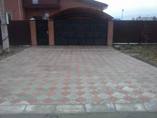 Тротуарная плитка в Егорьевске фото 4