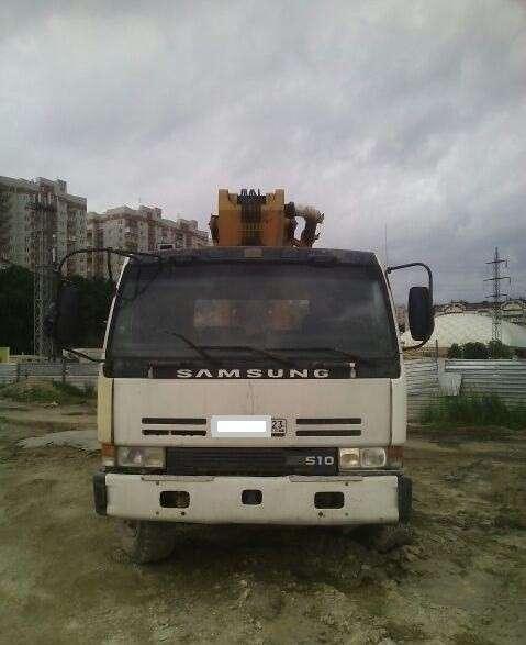 Автобетононасос SAMSUNG Поршневой, шиберный 32м в Краснодаре