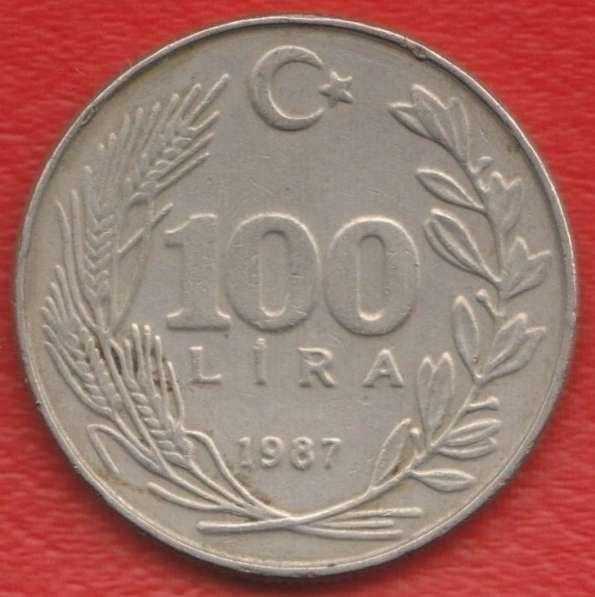 Турция 100 лир 1987 г.