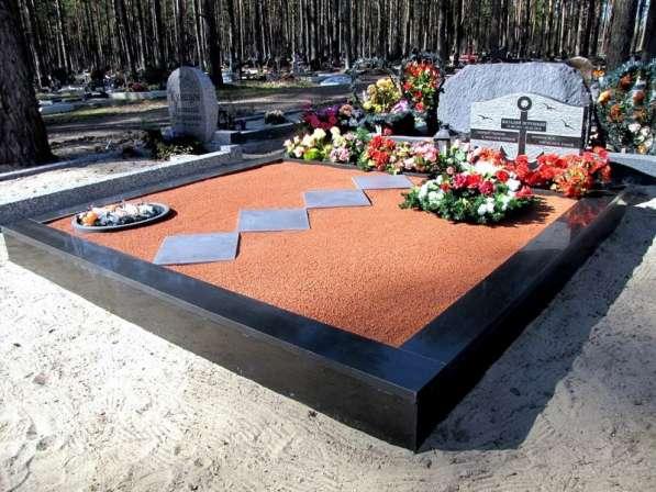 Установка памятника. Благоустройство Слуцк в Москве фото 5