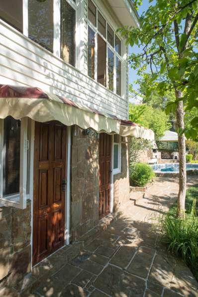 Дом с бассейном и сауной в Ялте фото 9