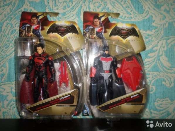 Фигурки Бэтмен и Супермэн 15 см