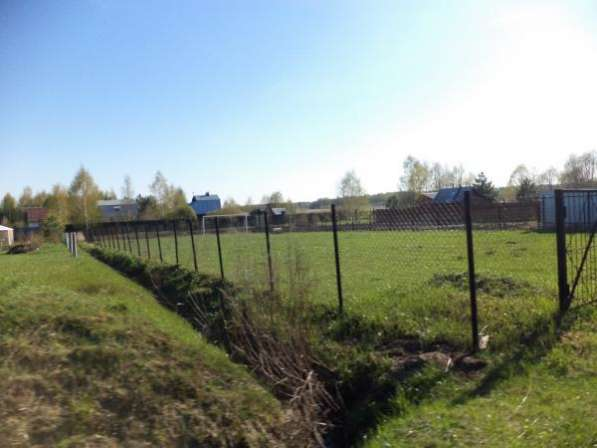 Земельный участок 12 соток дер. Прудня в Можайском районе 110 км от МКАД по Минскому шоссе.