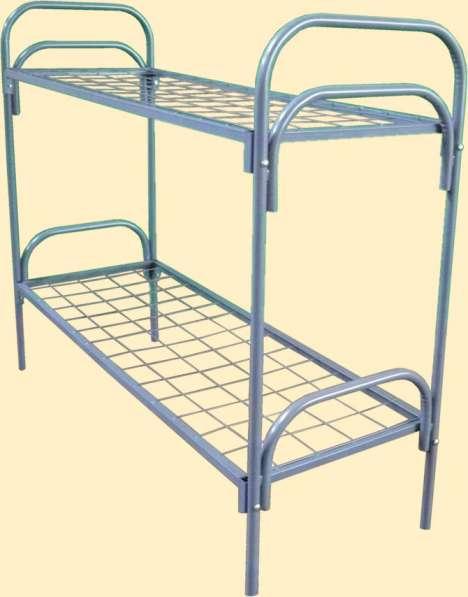 Металлические кровати для лагерей, рабочих, хостелов в Уфе фото 9
