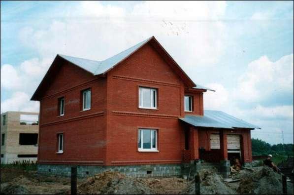 Постройка домов из кирпича и блоков с пятилетней гарантией