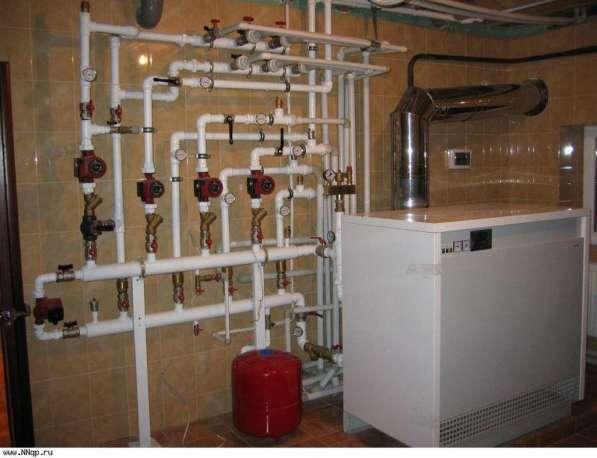 Профессиональные услуги по водопроводу, отоплению