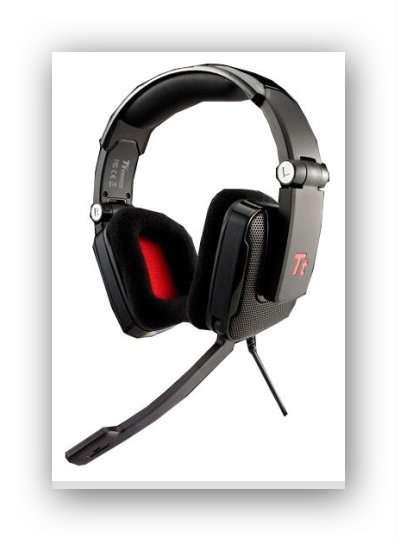 Наушники с микрофоном Tt eSports Shock