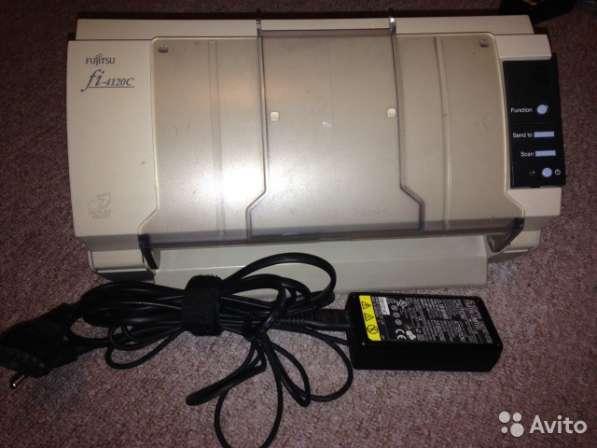 Протяжный сканер Fujitsu Fi-4120C