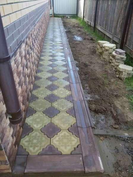 Тротуарная плитка в Егорьевске фото 7
