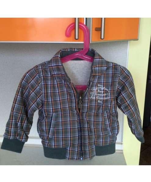 Детская двухсторонняя куртка Zara 9-12 мес. (78 см)