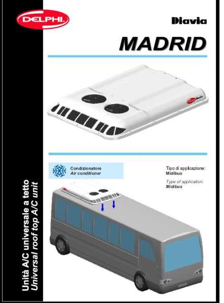 Кондиционер для автобуса и грузовика