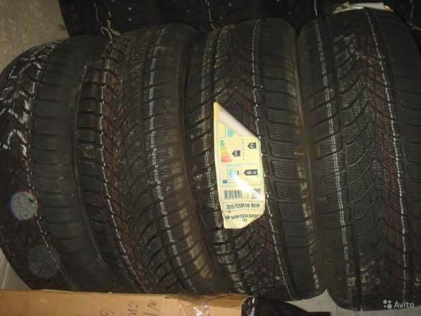 Новые немецкие Dunlop 215/60 R17 Winter Sport 4D
