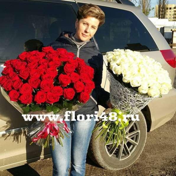 101 роза в Липецке