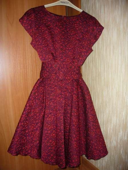 Платье жаккард