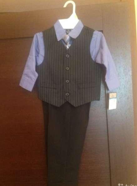 Костюм-тройка с галстуком