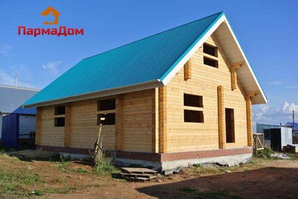 Производим и строим дома из профилированного бруса