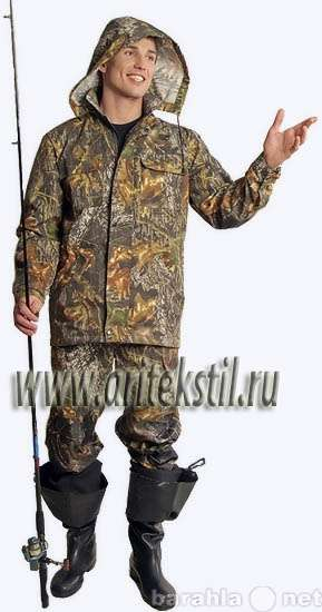 одежды для охотников и рыболовов
